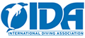 Logo der International Diving Association