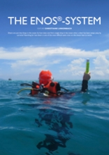 """ENOS-System in Emirates Diving Association/EDA mag """"Divers For The Environment"""""""