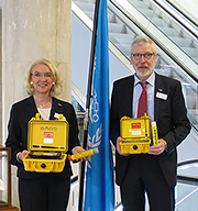 Seareq presents MOBOS and ENOS at IMO, International Maritime Organization of UNO/United Nations